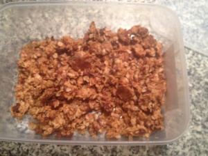 cereal bar crumble